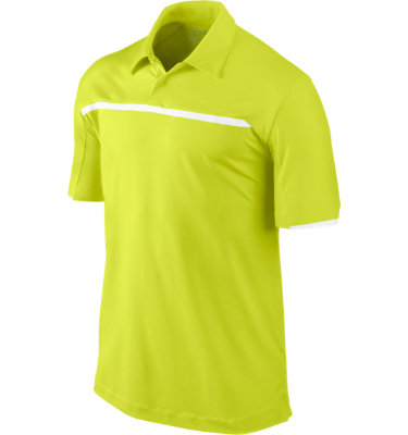 Nike Men's Embossed Chest Stripe Short Sleeve Polo