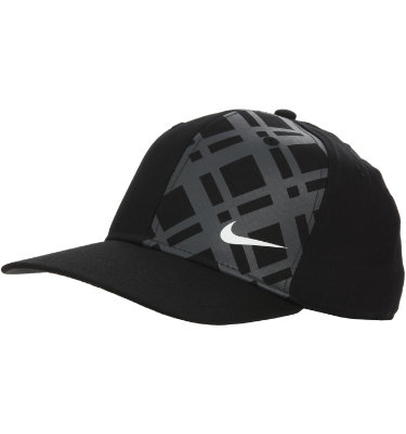 Nike Men's Plaid Flat Brim Plaid Cap