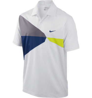 Nike Men's Geo Printed Short Sleeve Polo
