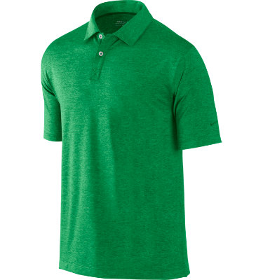 Nike Men's Heathered Short Sleeve Polo