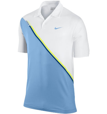 Nike Men's Slide Print Short Sleeve Polo