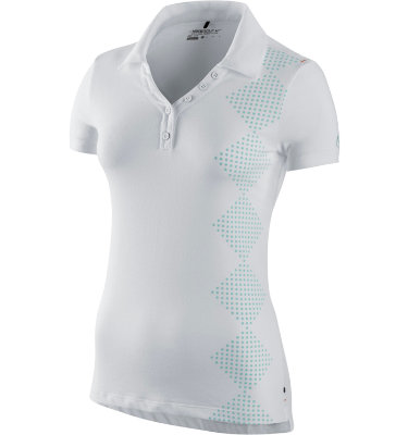 Nike Sport Women's Print Novelty Short Sleeve Polo