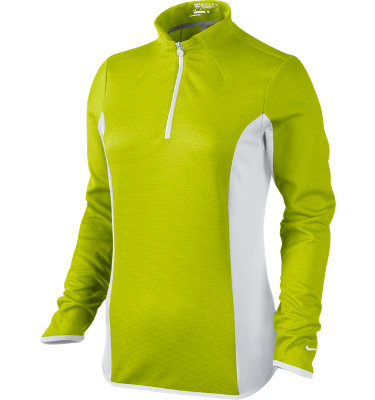 Nike Women's Texture ½-Zip Long Sleeve Pullover