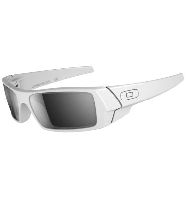 Oakley GASCAN Sunglasses - Polished White/Black Iridium