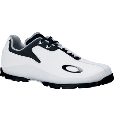 Oakley Men's Holdover Golf Shoe - White/Black