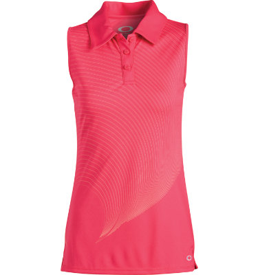 Oakley Women's Imagery Sleeveless Polo