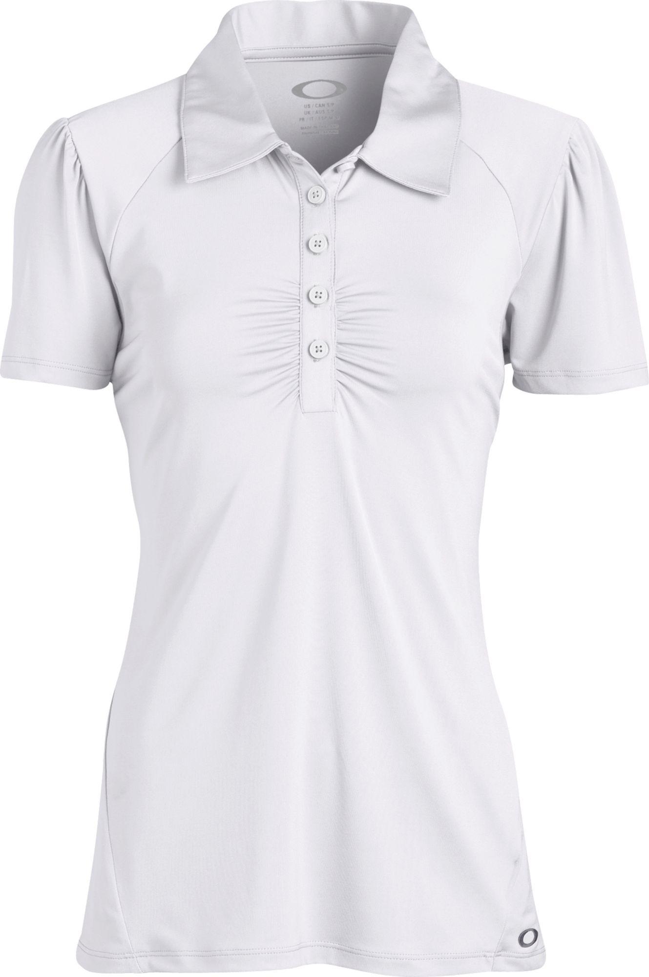 Oakley Women's Lane Solid Short Sleeve Polo