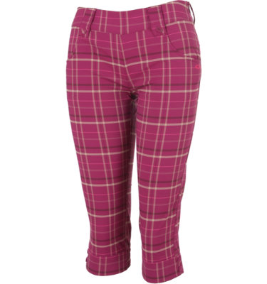 Oakley Women's Palm Plaid Capri Pant