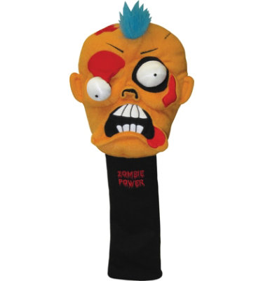 Winning Edge Designs Orange Zombie Headcover