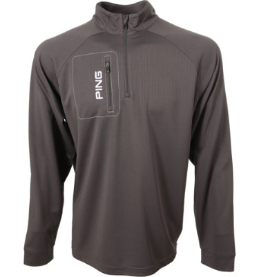 PING Men's Ranger ¼-Zip Long Sleeve Pullover