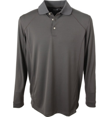 PING Men's Slice Long Sleeve Polo