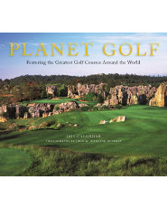Booklegger Planet Golf 2013 Wall Calendar
