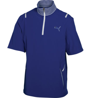 PUMA Men's Golf Kinetic Short Sleeve Jacket