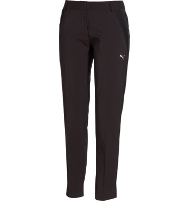 PUMA Golf Women's Slim Tech Black Pant