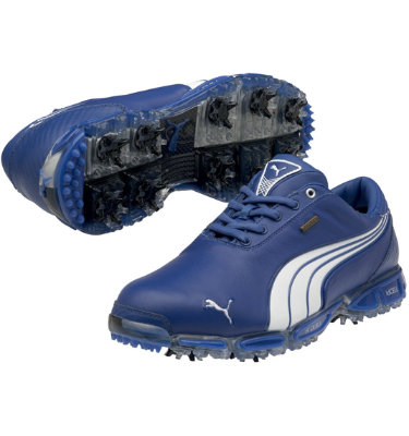 PUMA Men's Super Cell Fusion Ice LE Golf Shoe - Surf the Web/White