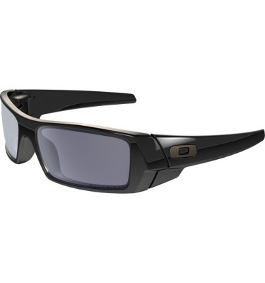 Oakley Polarized GASCAN Sunglasses - Polished Black/Grey Polarized