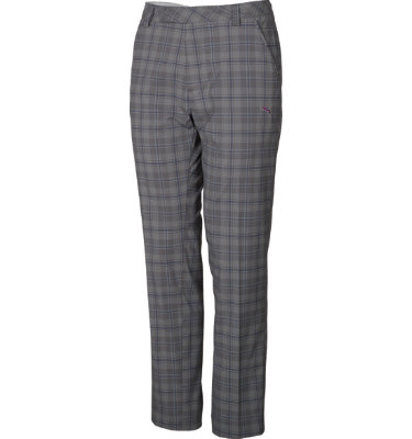 PUMA Men's 5-Pocket Plaid Pant