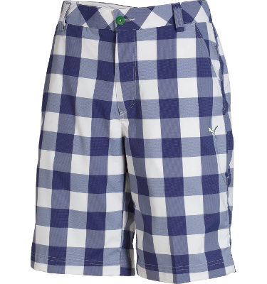 PUMA Men's Buffalo Check Tech Short