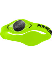 Power Balance Silicone Wristband - Volt/Black