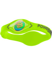 Power Balance Silicone Wristband - Volt/Grey