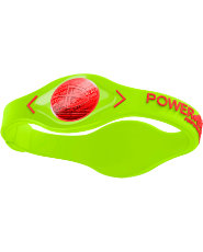Power Balance Silicone Wristband - Volt/Red