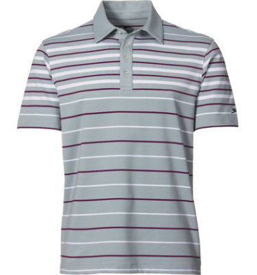 Slazenger Men's Axminister Engineered Stripe Short Sleeve Polo