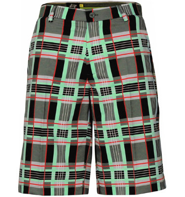 Sligo Men's Plaid Short