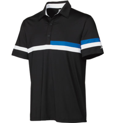 Slazenger Men's Ansbach Colorblock Short Sleeve Polo