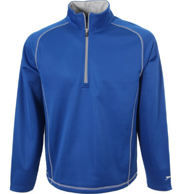 Slazenger Men's Ching ¼ Zip Long Sleeve Pullover