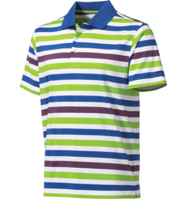 Slazenger Men's Siegen Rugby Stripe Short Sleeve Polo