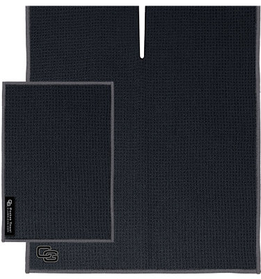 Club Glove USA Microfiber Caddy Towel - Black