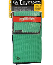 Club Glove USA Microfiber Caddy Towel - Green