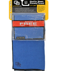 Club Glove USA Microfiber Caddy Towel - Royal