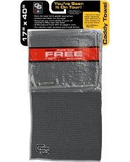 Club Glove USA Microfiber Caddy Towel - Slate