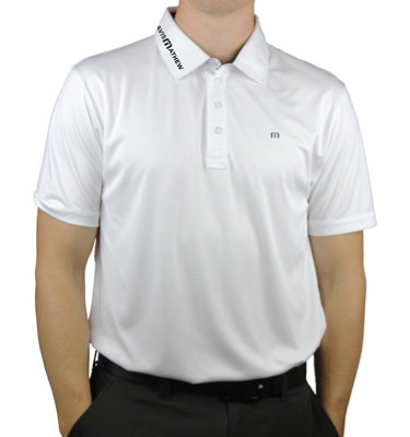 Travis Mathew Men's B-Watson Icon Short Sleeve Polo