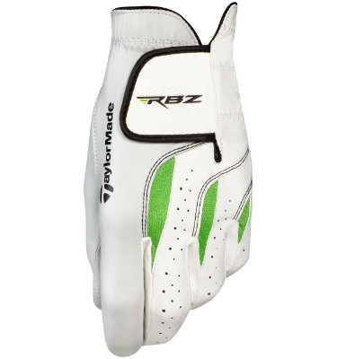 TaylorMade Men's RocketBallz Golf Glove - White/Green
