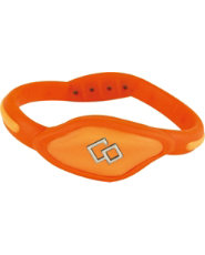 Trion:Z Orange Flex Bracelet