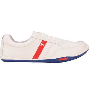 TRUE linkswear Men's phx Golf Shoe - White/Navy