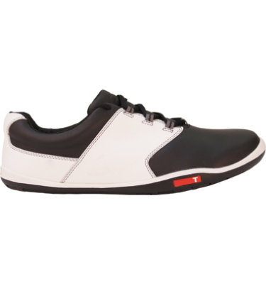 TRUE linkswear Men's tour Golf Shoe - Black/White