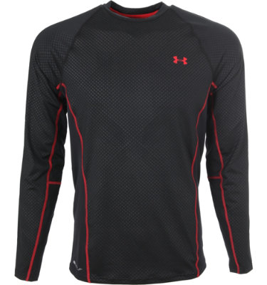 Under Armour Men's AllSeasonGear Crew Neck Long Sleeve Golf Pullover