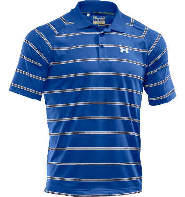 Under Armour Men's Catalyst Stripe Short Sleeve Polo
