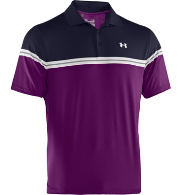 Under Armour Men's Armband Chest Stripe Short Sleeve Polo