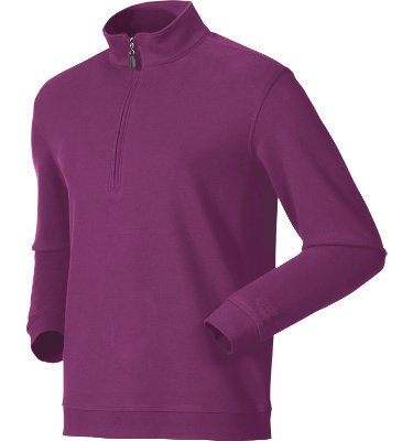 Walter Hagen Men's Hutch ¼-Zip Long Sleeve Polo
