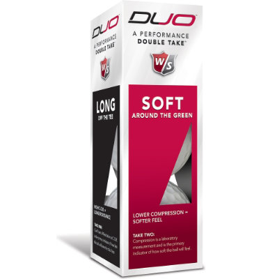 Wilson Staff DUO Golf Balls - 2 pack