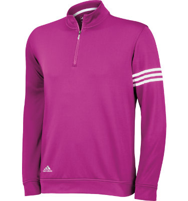 adidas Men's ClimaLite 3-Stripes Pullover
