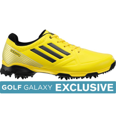 adidas Men's adizero 6-Spike Golf Shoe - Yellow/Black/Black