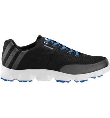 adidas Men's Crossflex Golf Shoe - Black/Blue