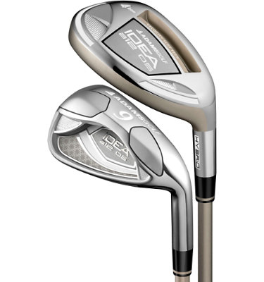 ADAMS GOLF Women's a12 OS Irons - (Graphite) 4-6H, 7-SW