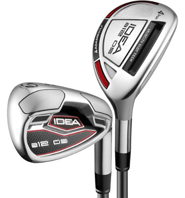 ADAMS GOLF Men's a12 OS Irons - (Steel) 4-6H, 7-GW