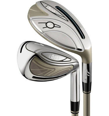 ADAMS GOLF Women's Idea Irons - (Graphite) 4-6H, 7-PW, SW